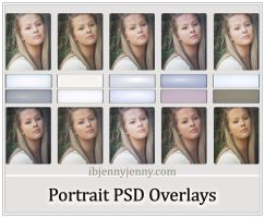 Free Portrait Overlays by ibjennyjenny