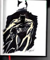 Batman Sketch by Pinkshisno