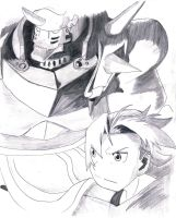 Edward and Alphonse, from Full Metal Alchemist by MauricioKanno