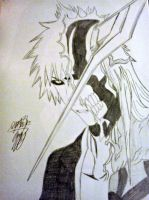Hollow Ichigo by ziggyrem