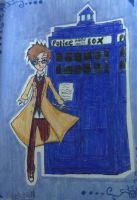 Doctor Who by flametheskull