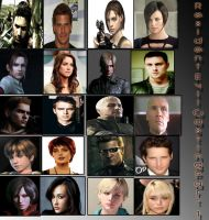 Resident Evil fan cast_Part 01 by xXLife-Starts-NowXx