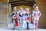Final Fantasy 13 Sisters by TwinmadeCosplay