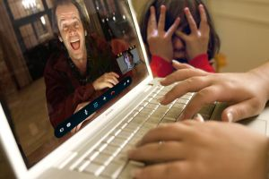 Skyping with Jack Torrance by Brandtk