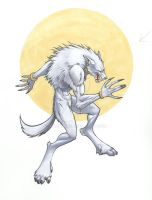 white wolf by BryanSyme