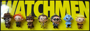 Chibi-Charms: The Watchmen by MandyPandaa