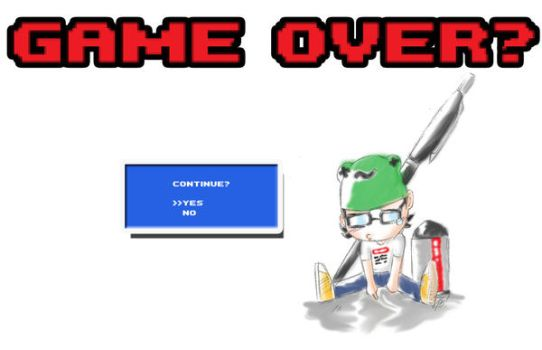 Game Over? by momopi