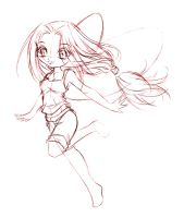 papillon... sketch by sureya