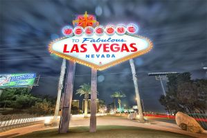 Welcome to Fabulous Las Vegas by Torsten-Hufsky