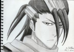 Bleach drawings - Byakuya by mangaslover
