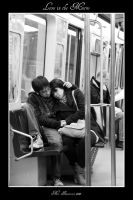 Love in the Metro by sicmentale