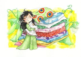 Princess and the pea by ETrost