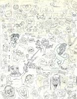 Doodle Collage by jamesthe4