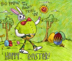 Easter card, 2008 by nicksedillos