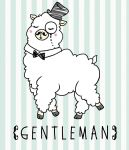 Gentleman Alpaca by satoo-yuki