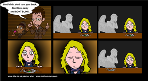 Dr Who - Dont Blink by munchai