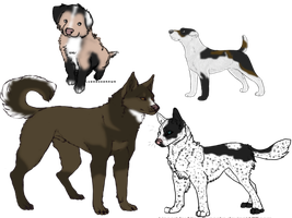 Adopt A Rescue Dog Batch 2 -Open- by JBug12365Adopts