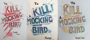 To Kill A Mocking Bird Book Covers by Benzi-Rae