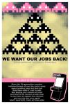 we want our jobs back by Punkflash