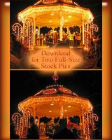 Lighted Gazebo 2009 by WDWParksGal-Stock
