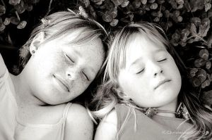 Stevie and Paige BW by Paigesmum