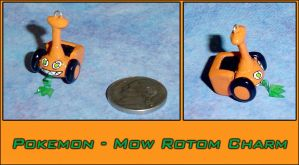 Pokemon - Mow Rotom Charm by YellerCrakka