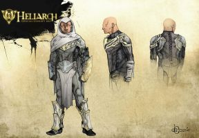 Concept Art - Heliarch by AenTheArtist