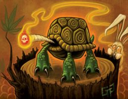Hotbox tortoise and hare by mr-biggs