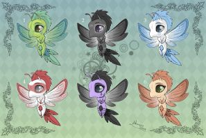 [Closed] Adoptables: Pixies by MySweetQueen