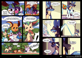 RDiVC - Pages 19-20 by TamarinFrog