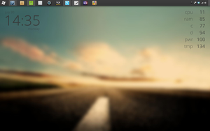 Desktop - July 30th, 2012 by TheBlackParrot0