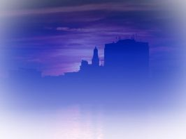 City Scenic 05 by dknucklesstock