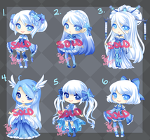 Icy Adopts: SOLD OUT by RaineSeryn