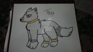 Theos the Wolf by XxObscureVioletxX