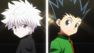 Killua and Gon (Volume 7 Cover Version) by LieutenantColonelFan