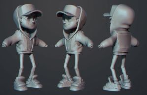Subway Surfers Jake Fanart 2 by polyphobia3d