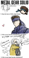 Metal Gear Solid MEME by Anko-sensei