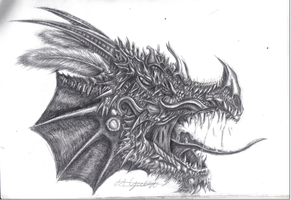 Inspired Dragon by Scream-Till-It-Hurts