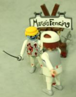 Z.A.P. 2 Day 25 Marcos Fencing Academy by zombiemonkie