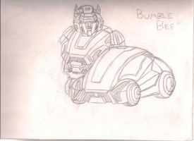 Cybertron Bumblebee by LostHelix119