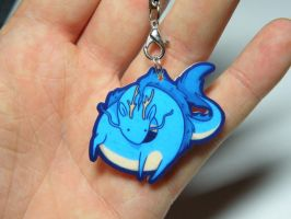 little dragon acrylic charm by michellescribbles