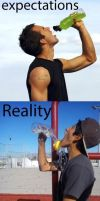 Expectation vs. Reality by cosenza987