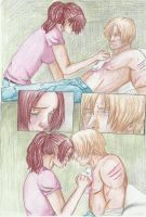 claire x leon : don't cry by gwendoline-bones
