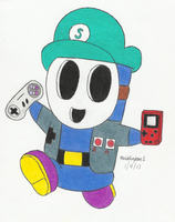 Me as a Shy Guy by MarioSimpson1