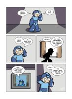 Despondent Mega Man - Need Some Love by JesseDuRona