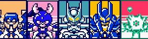 All KWG Male Types Medabots by Waito-chan