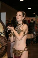 Slave Leia by Pabloramosart