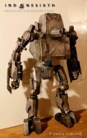 Scratch-built 1:6 Exoskeleton: Goodnight Kiss by jodprak