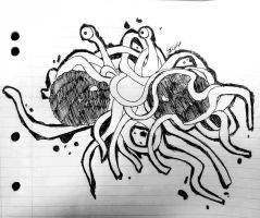All Hail THE FLYING SPAGHETTI MONSTER by YourInnermostDemon