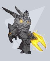 Moba Character 01 by JustMick